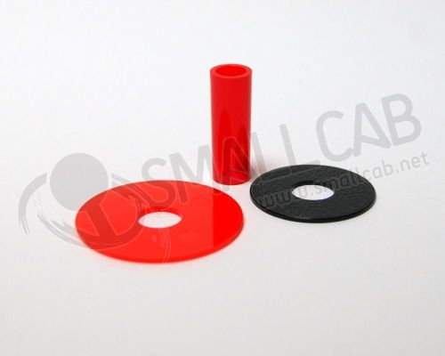 Sanwa JLF-CD Shaft Cover rouge transparente