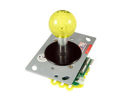 Illuminated joystick - Yellow