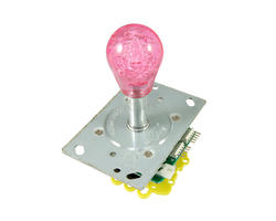 Illuminated bat top joystick - pink
