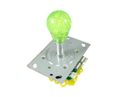 Illuminated bat top joystick - Green