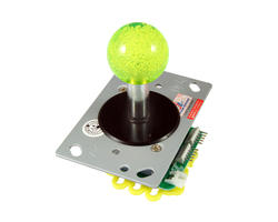 Illuminated joystick - Green