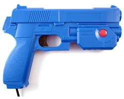 AimTrak Light Gun with recoil - Blue