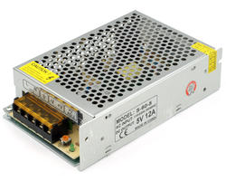 Power supply 5V/12A - Terminals
