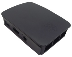 Official Black Case - Raspberry Pi Model B 3