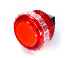Seimitsu PS-14-KN Button Transparent - Red