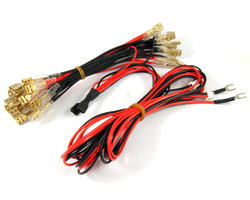 Cable supply for arcade illuminated joysticks and buttons