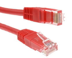 Cable network - RJ45 150cm - red