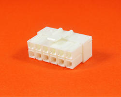 JST VL connector - 12 male contacts