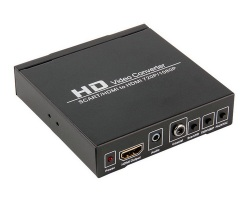 Audio video converter SCART to HDMI