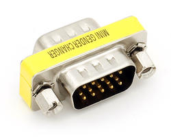 VGA male / male connector