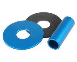 Sanwa JLF-CD Shaft Cover aluminium Bleu clair