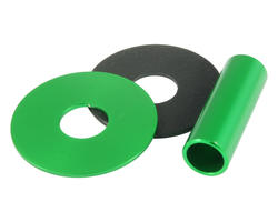 Sanwa JLF CD Green aluminum Shaft Cover