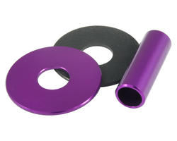 Sanwa JLF-CD Shaft Cover aluminium Violet