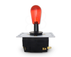 Joystick Crown SDL-301-DX - Rouge transparent
