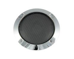 USED - Speaker grille 120mm - Chrome