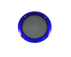 Speaker cover 95mm - Blue