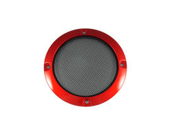 Speaker grille 95mm - Red