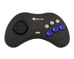 Joypad Neo Geo - Noir - Rubber coating