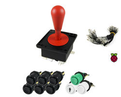 Kit Bat joystick and buttons - 1 player for Raspberry