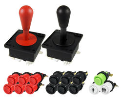 Kit bat joysticks and buttons