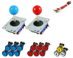 Kit standard joystick / bright buttons