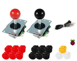 Kit Raspberry Sanwa joysticks / Sanwa buttons
