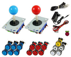 Kit Raspberry Joysticks Zippy / boutons lumineux