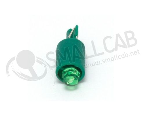 Ampoule wedge - led 12V verte