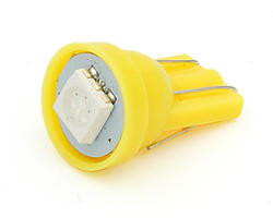 Ampoule wedge - led CMS 12V jaune