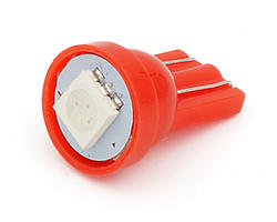 Ampoule wedge - led CMS 12V rouge