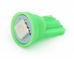 Ampoule wedge - led CMS 12V verte