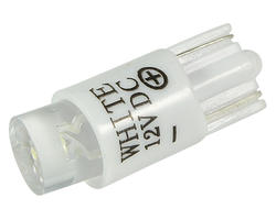 Ampoule wedge - led T10 12V blanche