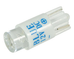 Wedge light - led T10 12V blue