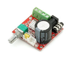 Mini amplificateur audio stereo