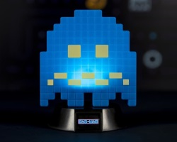 Mini blue ghost lamp - 10cm