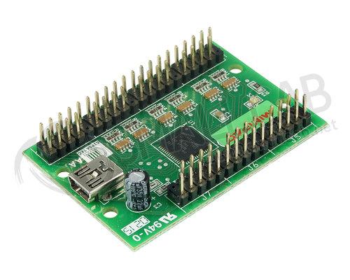 Encoder Keyboard - Minipac Usb  Smallcab
