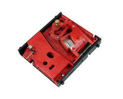 Plastic coin acceptor 1 Franc Suisse