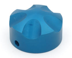 Blue ergonomic knob - Spintrak