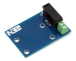 Fuse holder for solenoid