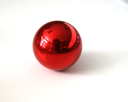 Ball Top Metallic Red - Sanwa LB-35