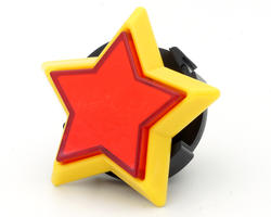 Red Star Button - Sanwa OBSA Y 60THO-R