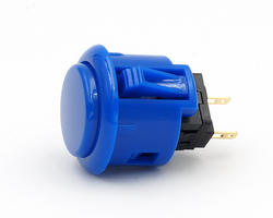 Sanwa OBSF 24mm - Royal blue