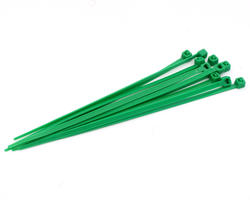 Tie cables 3mm (x10) - Green
