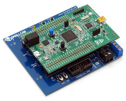 Pre-installed PCB STM32 and shield - Pin2DMD