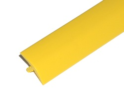 "T-Molding 17.5mm (11/16"") Yellow"