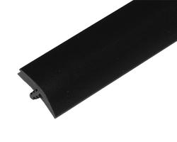 "T-Molding 19mm (3/4"") Black (Leather Texture)"