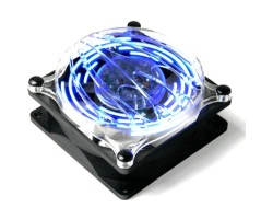 Ventilateur 80 mm - Led bleu
