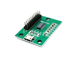 Encoder USB Xin-mo joystick-buttons 1 player (2.8mm terminals)